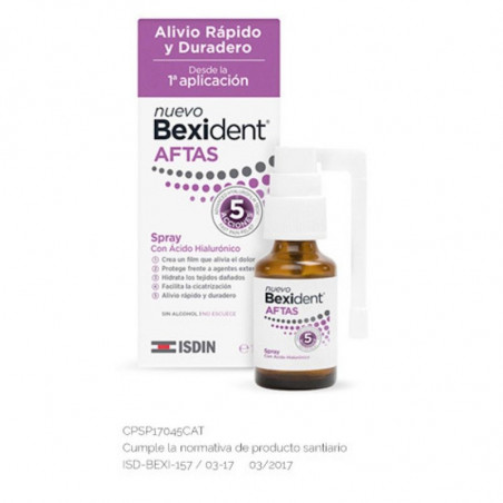 Bexident. AFTAS Spray- ISDIN