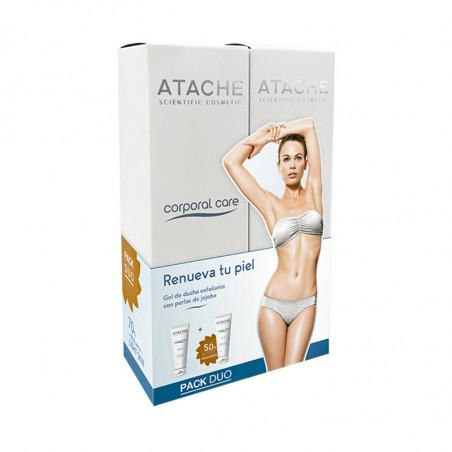 Pack Duo. Light Skin Gel Ducha Exfoliante - ATACHE