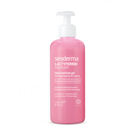 (Disponible) Lactyferrin. Gel Higienizante de Manos 250ml - SESDERMA (Disponible)