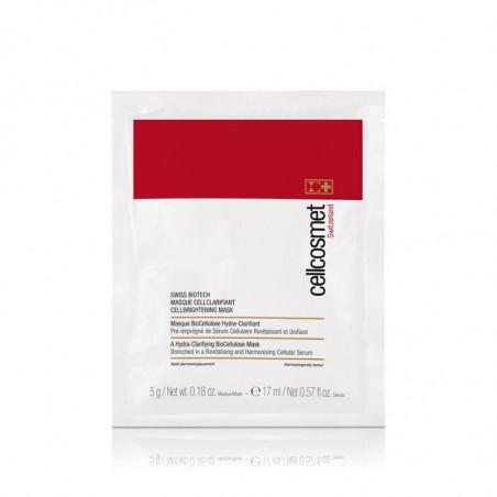 Facial. CellBrightening Mask - Cellcosmet