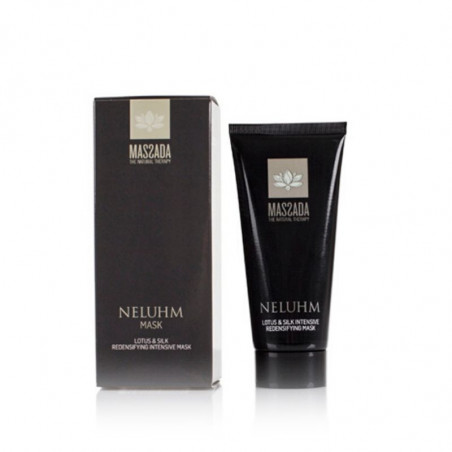 Facial Antiaging. Neluhm. Lotus & Silk Redensifying Intesive Mask - Massada