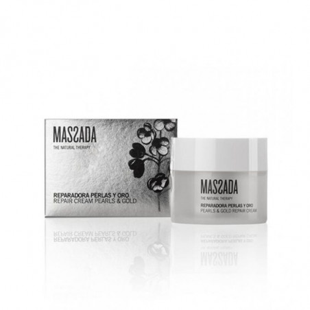 Facial Antiaging. Pearl Perfection. Repair Mask - Massada