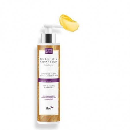 Sun Lux. Gold Oil · Radiant Skin - Aroms Natur