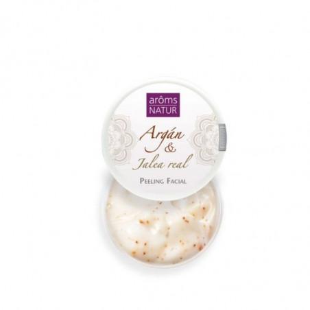 Argán Gold. Peeling Facial de Argán & Jalea Real - Aroms Natur