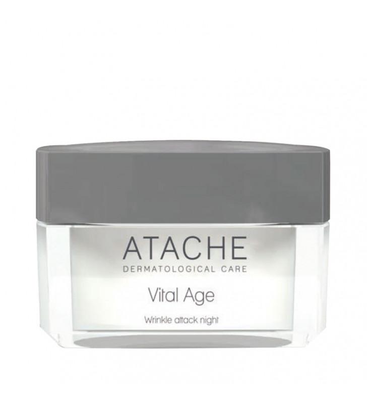 Vital Age Retinol. Crema de Noche Antiarrugas - ATACHE