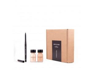 Kit Nude&Glow. Liquid Glow + Skin Perfect + Kajal Liner - JORGE DE LA GARZA