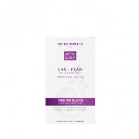 Nutricosmetics. Lax Plan Duo products - Aroms Natur