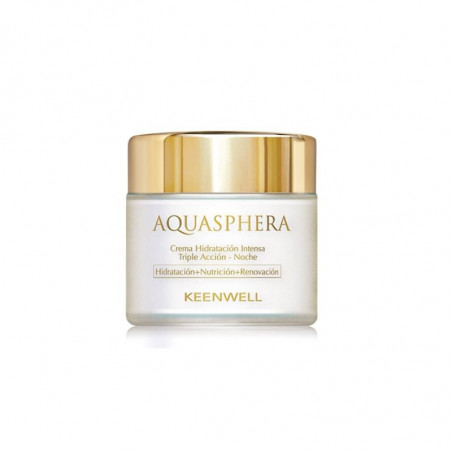 Aquasphera. Crema Hidratante Triple Acción Noche - KEENWELL