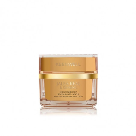 Jalea Real & Ginseng. Crema Energética Revitalizante Noche - KEENWELL