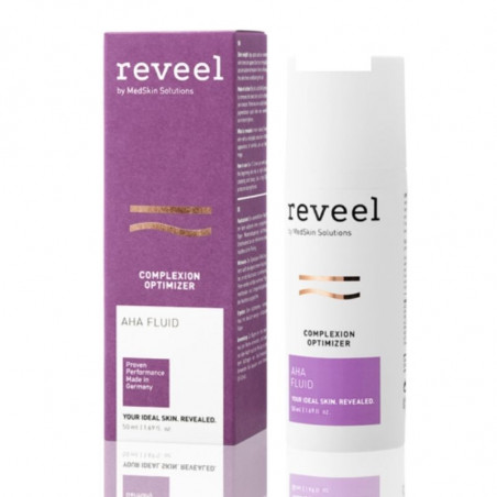 Complexion Optimizer. AHA Fluid - Reveel
