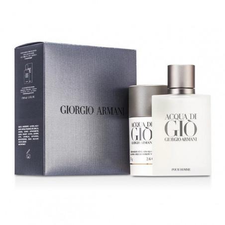 Set Aqua de Gio Men Eau de Toilette con vaporizador + deo - Giorgio Armani
