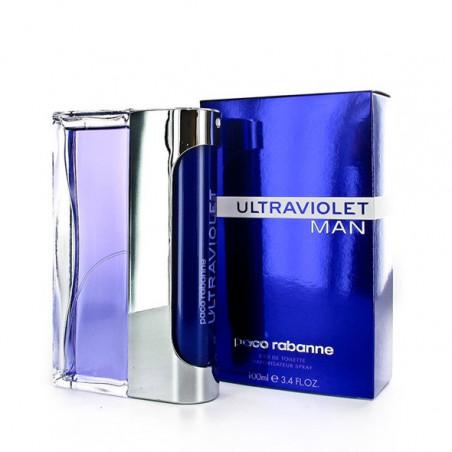 Ultraviolet Men Eau de Toilette con vaporizador- Paco Rabanne