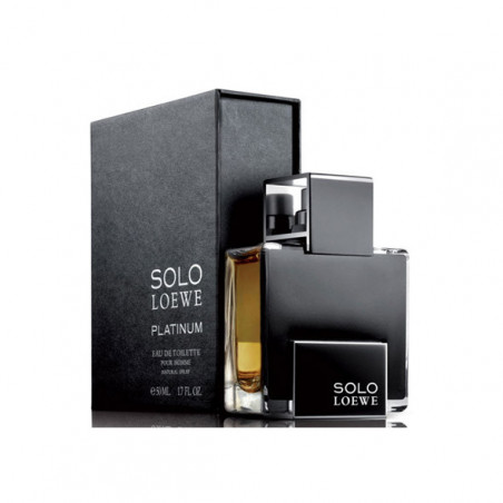 Solo Loewe Platinum Eau de Toilette con vaporizador- Loewe