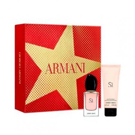 Set Si Eau de Parfum con vaporizador- Giorgio Armani