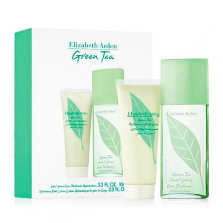 Set Green Tea Eau de Toilette con vaporizador + Body Lotion -Elizabeth Arden