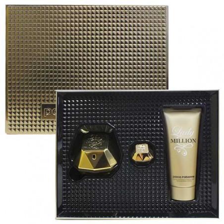Travel Set Lady Million Eau de Parfum con vaporizador- Paco Rabanne