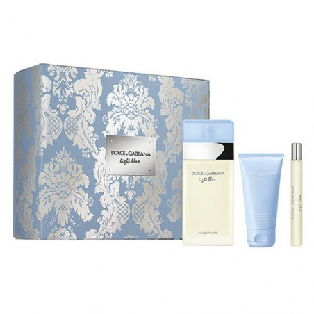 Set Light Blue Eau de Toilette con vaporizador + Body Milk + Mini Talla - Dolce & Gabbana