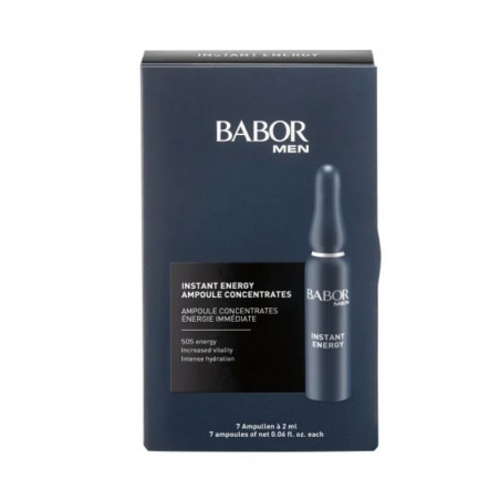 Babor Men. Instant Energy Ampoule Concentrates - BABOR