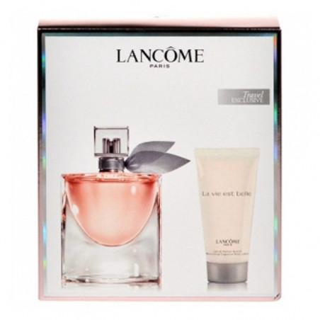Set La Vie Est Belle Eau de Parfum con vaporizador + Body Milk - Lancome