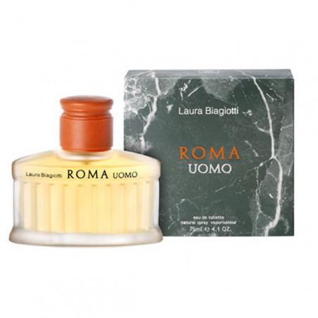 Roma Uomo Eau de Toilette con vaporizador- Laura Biagiotti