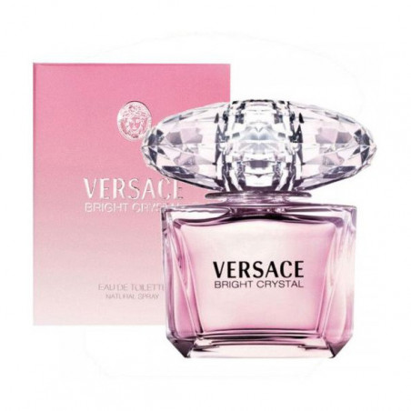 Bright Crystal Eau de Toilette con vaporizador- Versace