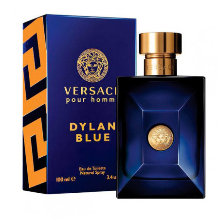 Dylan Blue Homme Eau de Toilette con vaporizador- Versace