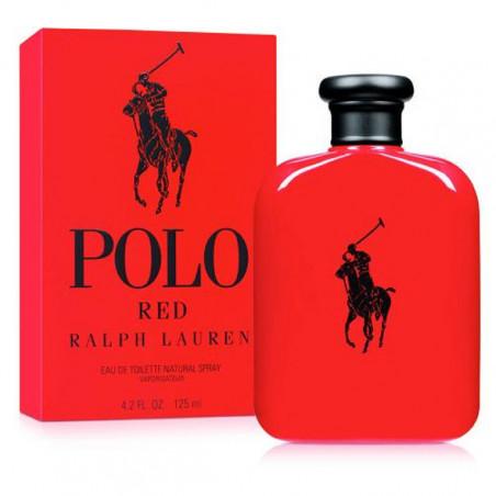 Polo Red Eau de Toilette con vaporizador- Ralph Lauren