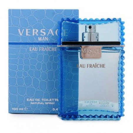 Eau Fraiche Eau de Toilette con vaporizador- Versace