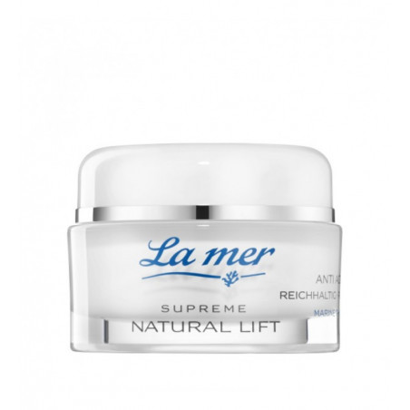 Supreme Natural Lift. Anti-Age Cream Extra-Rica (Sin perfume) - LA MER