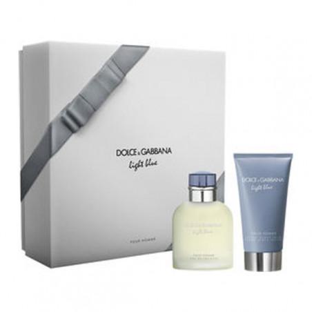 Estuche Light Blue Pour Homme Eau de Toilette con vaporizador + after shave - Dolce & Gabbana