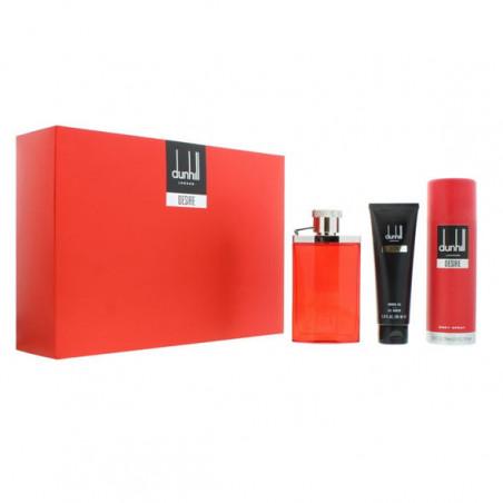 Estuche Desire Red Men Eau de Toilette con vaporizador + Gel de Ducha + After Shave - Dunhill