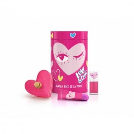 Estuche Love & Chic Eau de Toilette para Mujer– Agatha Ruiz de la Prada