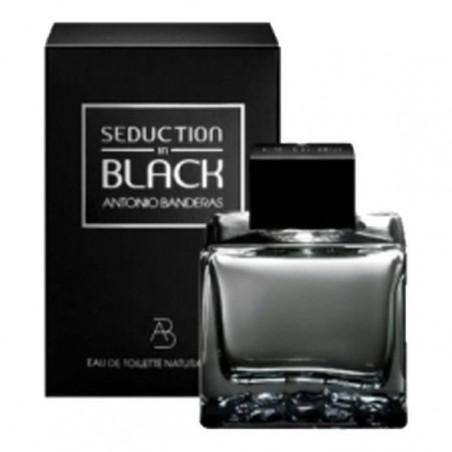 Seduction in Black Man Eau de Toilette con vaporizador – Antonio Banderas