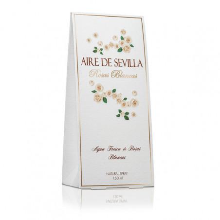 Rosas Blancas Eau de Toilette con vaporizador – Aire de Sevilla