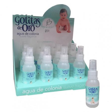 Gotitas de Oro Agua de Colonia con vaporizador - Instituto Español