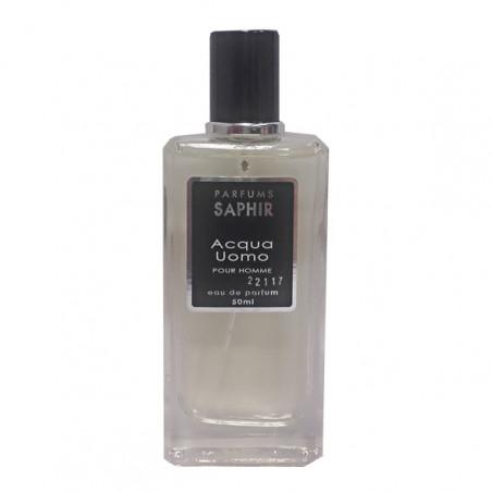 Acqua Uomo eau de parfum con vaporizador - Saphir