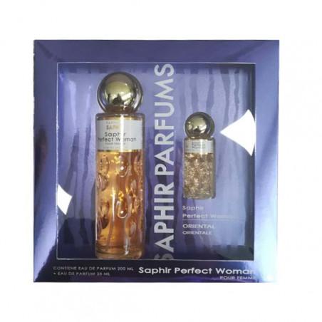 Estuche Perfect Woman eau de parfum con vaporizador - Saphir