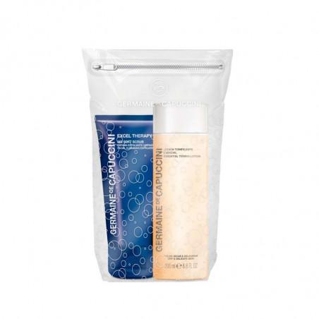 Silky Skin Duo. Aceite Desmaquillante Exprés + Loción Tonificante Esencial - GERMAINE DE CAPUCCINI