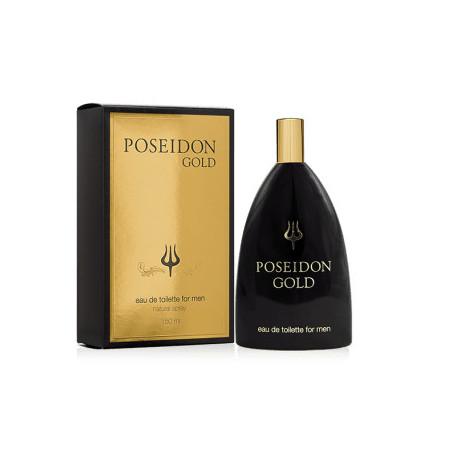 Poseidon Gold men Eau de Toilette con vaporizador- Instituto español