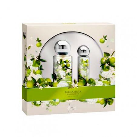 Estuche Flores de Bergamota y Mandarina eau de toilette con vaporizador - Saphir
