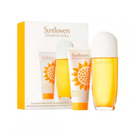 Sunflowers Eau de Toilette con vaporizador- Elizabeth Arden travel set