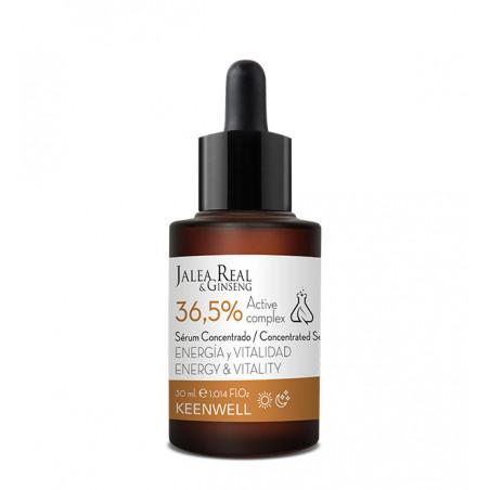 Jalea Real & Ginseng. Serum Energía y vitalidad 36,5% - Keenwell