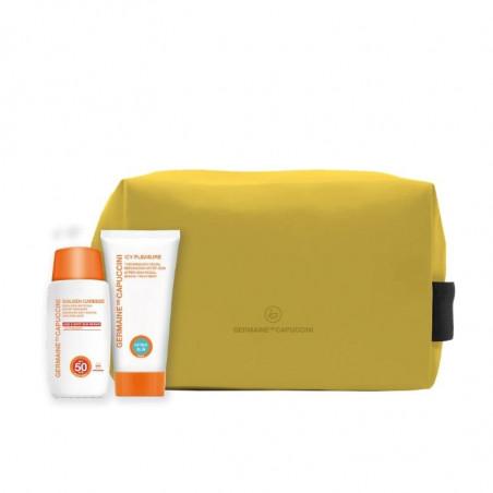 Golden Caresse. Promoción Verano Emulsión Antiedad Avanzada SPF50 - GERMAINE DE CAPUCCINI