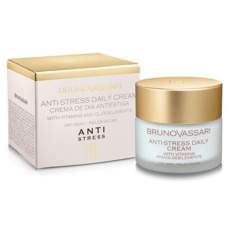 Anti-Stress. Crema de día antifatiga, piel seca - BRUNO VASSARI