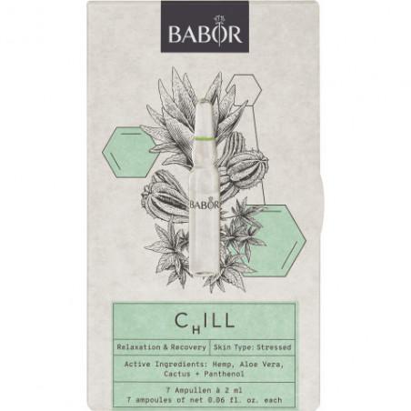 Ampollas Edición Limitada. Chill - Babor