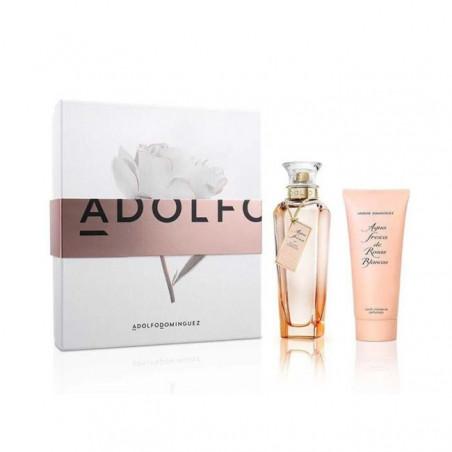 Set Agua de Rosas Blancas Eau de Toilette con vaporizador + minitalla- Adolfo Domínguez