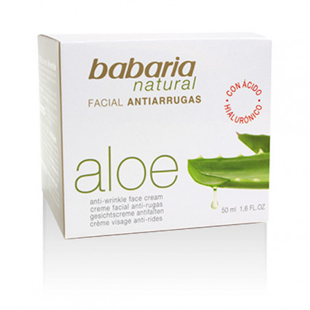 Aloe Vera. Crema antiarrugas - Babaria