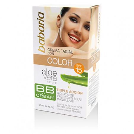 Aloe Vera. Color BB Cream SPF15 - Babaria