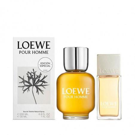 Set Loewe Pour Homme Eau de Toilette con vaporizador + talla pequeña -Loewe