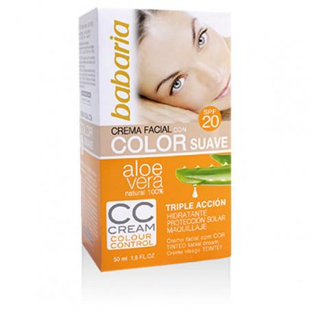 Aloe Vera Facial Color CC Cream SPF20 - Babaria